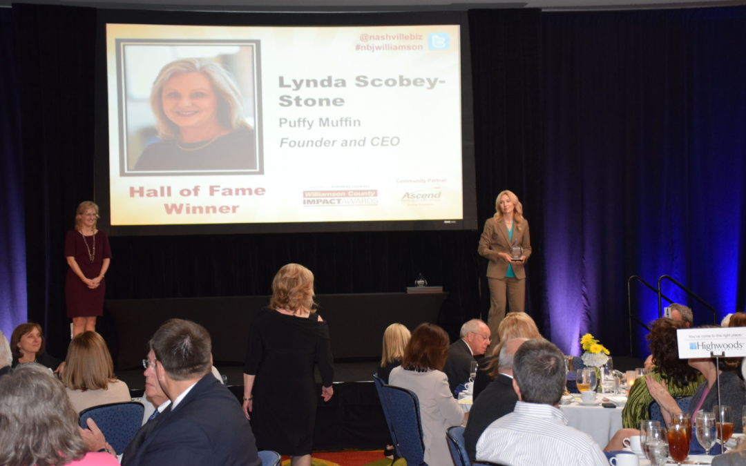 Lynda Stone Inducted In Williamson County Impact Awards Hall of Fame