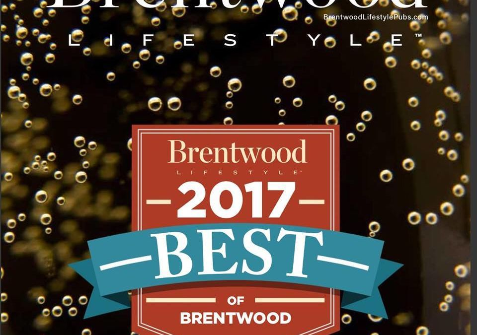 Puffy Muffin Voted Best Bakery in Brentwood by Brentwood Lifestyle Fans