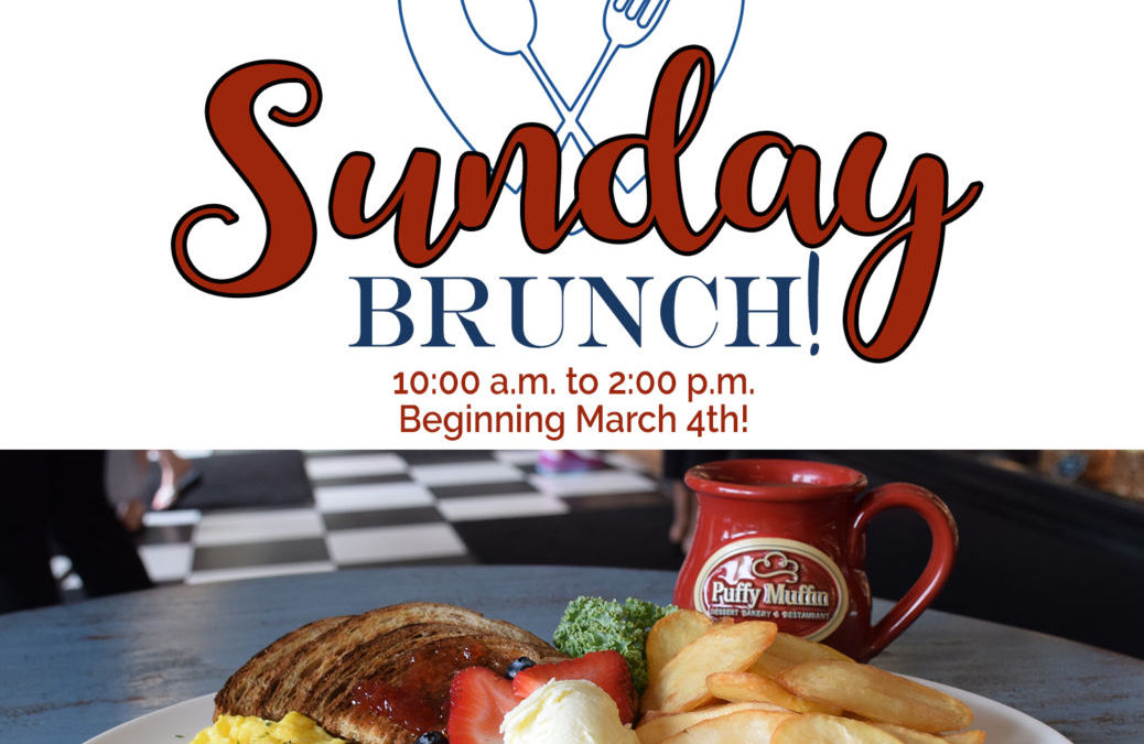 Introducing For The First Time EVER Sunday Brunch
