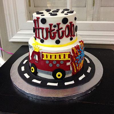 Fabulous Puffy Muffin Fireman Birthday Cake Puffy Muffin Funny Birthday Cards Online Alyptdamsfinfo
