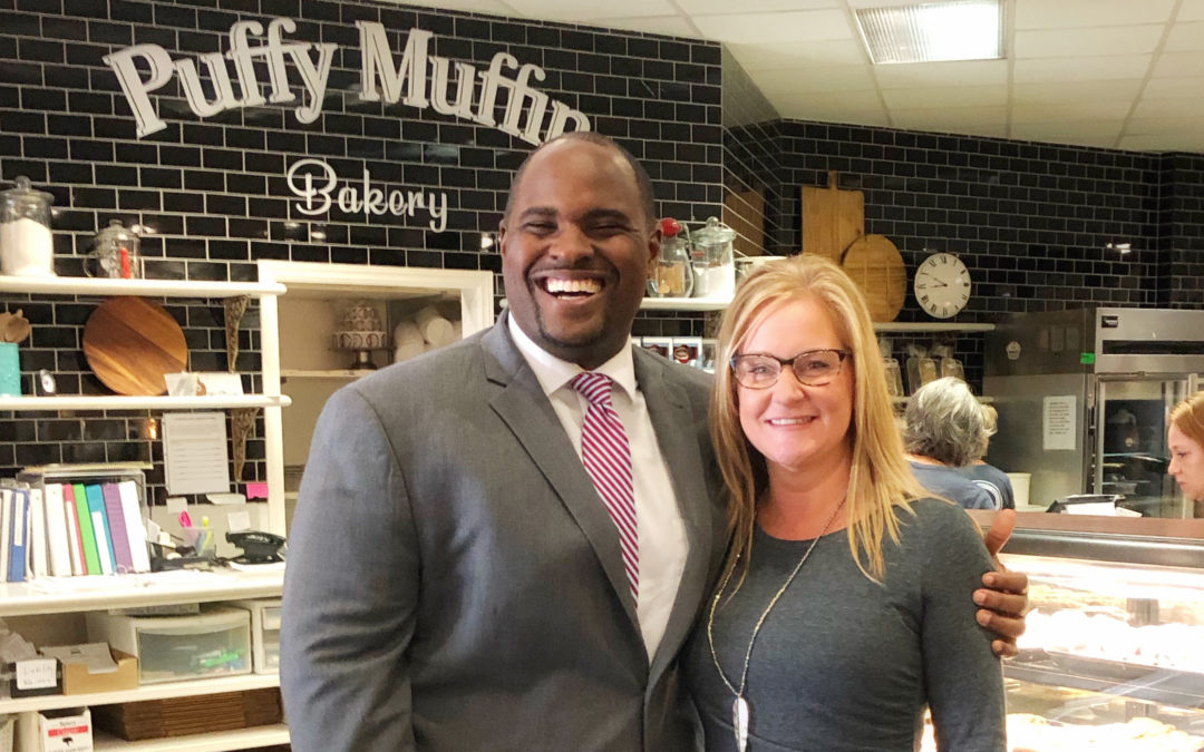 Fox 17 News Hometown Tour Features Puffy Muffin