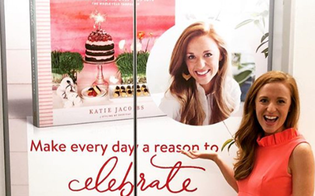 Katie Jacobs Features Puffy Muffin in New Book Celebrate